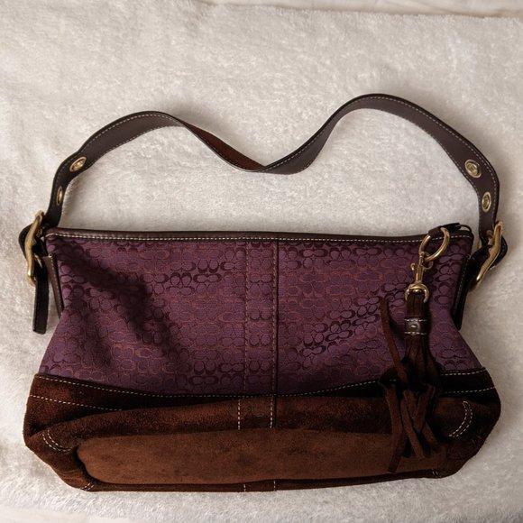 Coach Signature Soho Handbag F065-F-10418